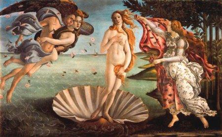 El naixement de Venus de Botticelli, una visió idealitzada de l'amor i dels seus secretsmor